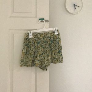 Mossimo floral print shorts!